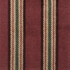 Mulberry Stripe Decorator Fabric by Highland Court