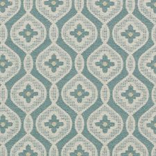 Turquoise Boucles Decorator Fabric by Highland Court