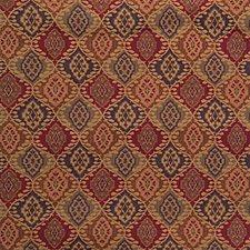 Classic Navy Ikat Decorator Fabric by Kravet