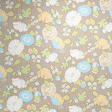 Dove Floral Decorator Fabric by Fabricut