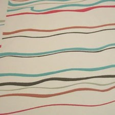 Azure Coral Decorator Fabric by B. Berger