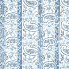 Blueberry Paisley Decorator Fabric by Fabricut