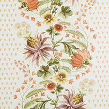 Spice Floral Large Decorator Fabric by Duralee