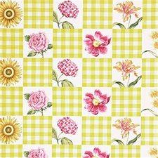 Yellow Botanical Decorator Fabric by Lee Jofa