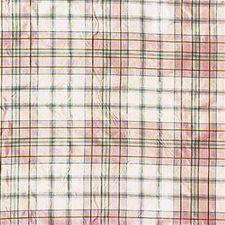Rose/Sk Plaid Decorator Fabric by Lee Jofa