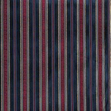 Midnigh Stripes Decorator Fabric by Lee Jofa