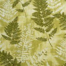 Lime Botanical Decorator Fabric by Lee Jofa