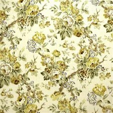 Lime/Leaf Print Decorator Fabric by Lee Jofa