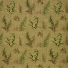 Tan Botanical Decorator Fabric by Lee Jofa