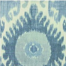 Blue Ikat Decorator Fabric by Lee Jofa