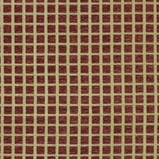 Wine Geometric Decorator Fabric by Lee Jofa