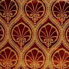 Cinnabar Velvet Decorator Fabric by Lee Jofa
