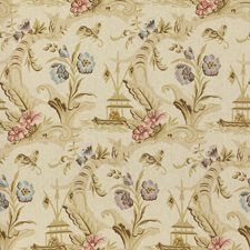 Cream Asian Decorator Fabric by Lee Jofa