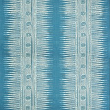 Marine Ethnic Decorator Fabric by Lee Jofa