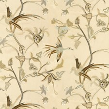 Neutral Jacobeans Decorator Fabric by Lee Jofa