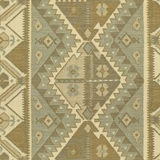 Pewter/Taupe Ethnic Decorator Fabric by Lee Jofa