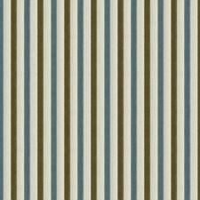 Sage/Mist Stripes Decorator Fabric by Lee Jofa