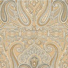 Beige/Grey Paisley Decorator Fabric by Lee Jofa