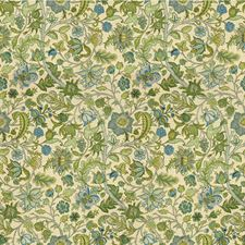 Blue/Green Botanical Decorator Fabric by Lee Jofa