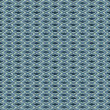 Blue/Navy Contemporary Decorator Fabric by Lee Jofa