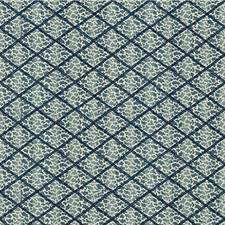 Blue Animal Decorator Fabric by Lee Jofa