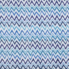 Worth Blue Herringbone Decorator Fabric by Lee Jofa