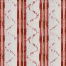 Red Ethnic Decorator Fabric by Lee Jofa