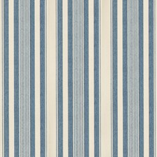 Navy Stripes Decorator Fabric by Lee Jofa