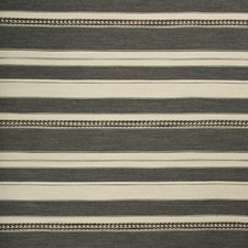 Grey/Ebony Ethnic Decorator Fabric by Lee Jofa