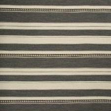 Grey/Ebony Ethnic Decorator Fabric by Lee Jofa
