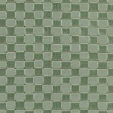 Aqua Check Decorator Fabric by Lee Jofa