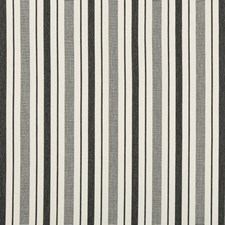 Charcoal Stripes Decorator Fabric by Lee Jofa