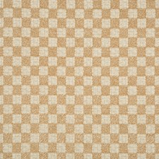Golden Check Decorator Fabric by Lee Jofa
