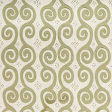 Sage Lattice Decorator Fabric by Lee Jofa
