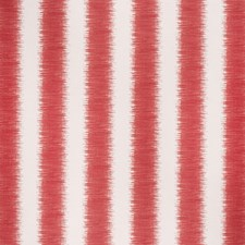 Red/Ecru Modern Decorator Fabric by Lee Jofa