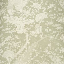 Celadon Tropical Decorator Fabric by Lee Jofa