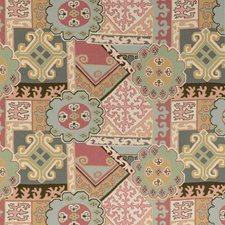 Pink/Multi Modern Decorator Fabric by Lee Jofa