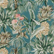 Lagoon Botanical Decorator Fabric by Lee Jofa