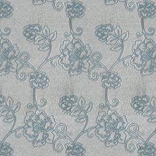 Seafoam Floral Decorator Fabric by Fabricut