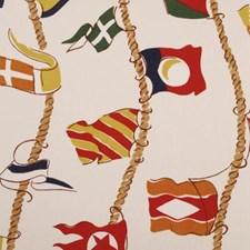 Multi Nautical Decorator Fabric by Duralee