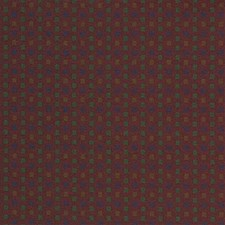Burgundy/Red/Green Decorator Fabric by Kravet