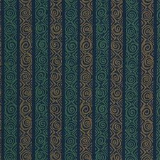 Blue/Green/Beige Decorator Fabric by Kravet