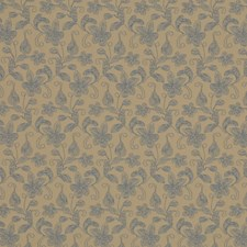 Cadet Blue Decorator Fabric by RM Coco