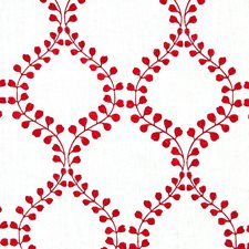 Crimson Decorator Fabric by Robert Allen