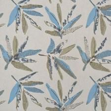 Aqua Multi Decorator Fabric by RM Coco