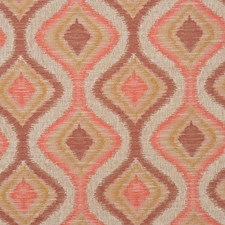 Beige Rose Decorator Fabric by RM Coco