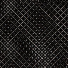 Black/Yellow Diamond Decorator Fabric by Kravet