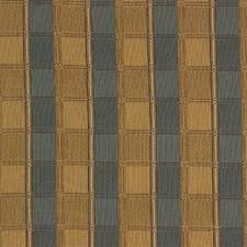 Yellow/Blue Plaid Decorator Fabric by Kravet