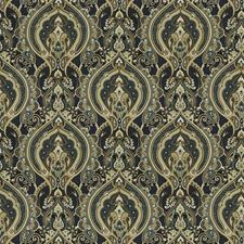 Ocean Paisley Decorator Fabric by Trend
