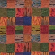 Green/Blue/Burgundy Modern Decorator Fabric by Kravet